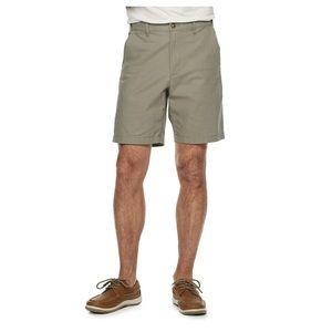 Croft and Barrow linen blend shorts 40